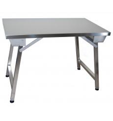 Table centrale inox - Table inox pliante ...