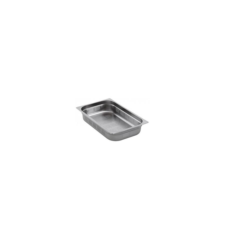 Bac gastro gn 1 1 perfor inox profondeur de 40 200mm for Bac de cuisson inox
