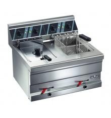 Friteuse double électrique 2 x 8L à poser gamme 600
