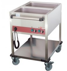 Chariot bain-marie GN1/1