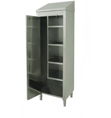 armoire balai en inox. Black Bedroom Furniture Sets. Home Design Ideas