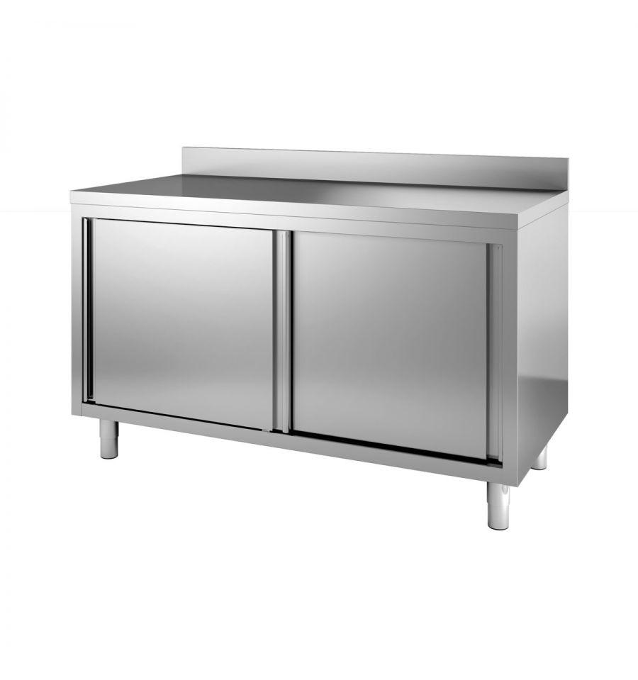 Buffet inox meuble inox armoire inox - Etagere coulissante cuisine ...