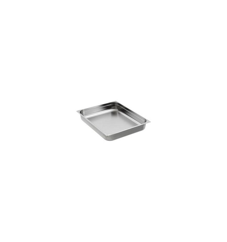 Bac gastro gn 2 1 inox prof de 20 200mm for Bac de cuisson inox