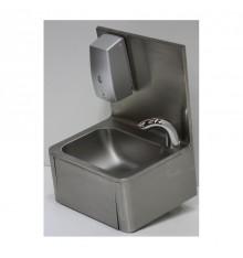 Lave mains complet en inox avec robinet électronique et distributeur de savon automatique