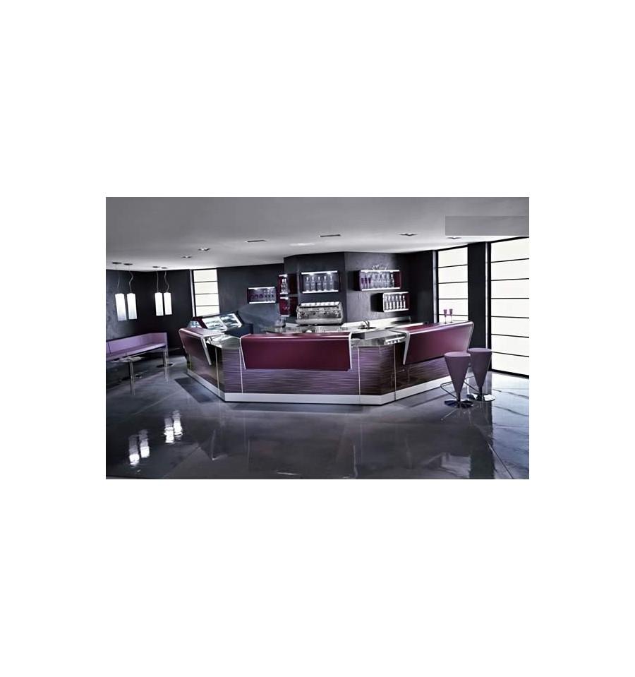 bar aux couleurs modernes. Black Bedroom Furniture Sets. Home Design Ideas