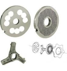 Couteau ou grilles pour hachoir double coupe A90